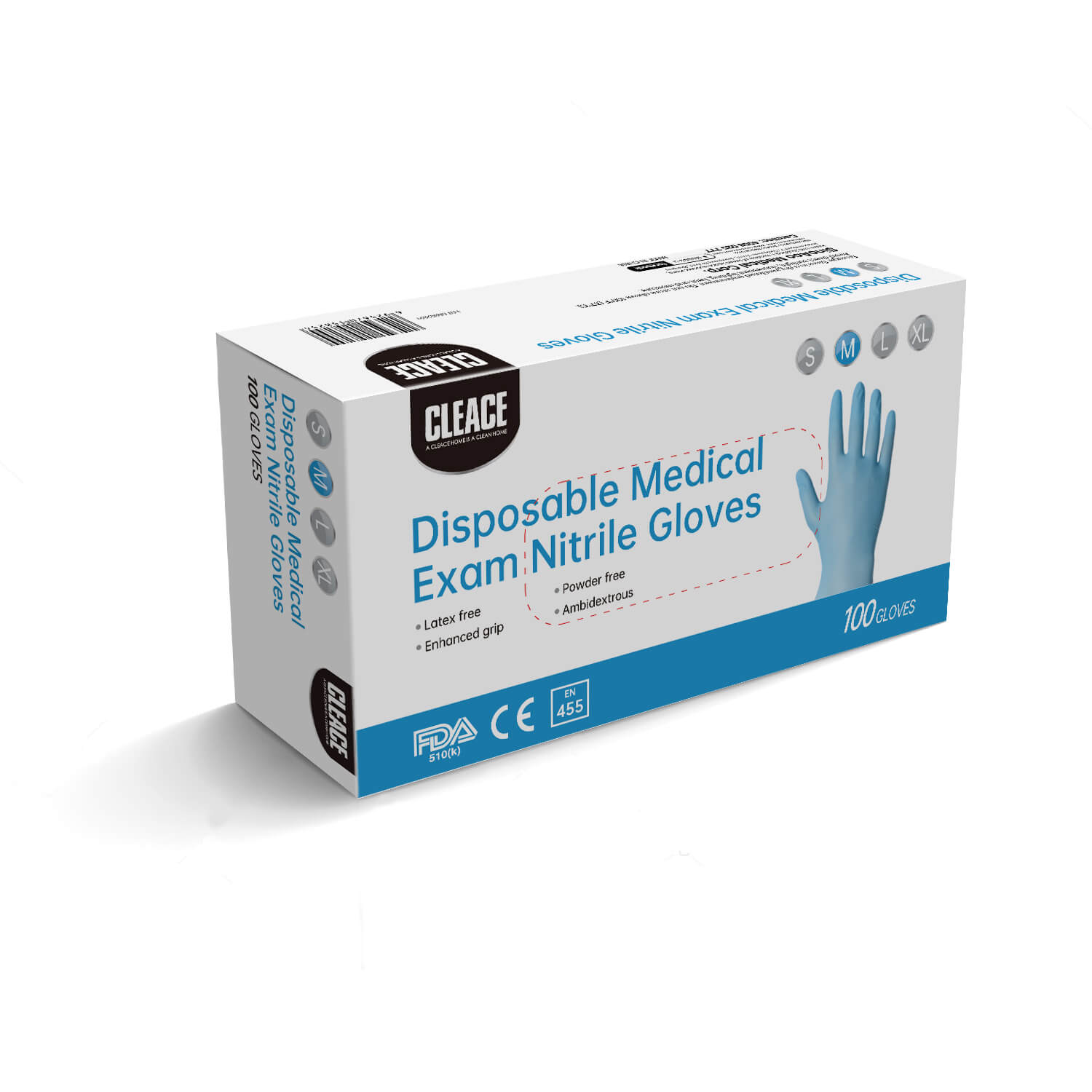 DISPOSABLE NITRILE GLOVES FOR MEDICAL USE